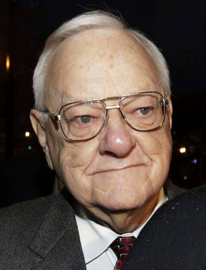 George Ryan, who was nominated for a Nobel Peace Prize, was accused of taking bribes. Photo: M. Spencer Green, Associated Press