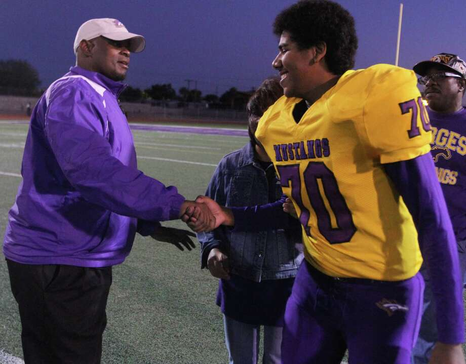 El Paso Burges football coach Marcus Graham Photo: Courtesy Of Marcus Graham