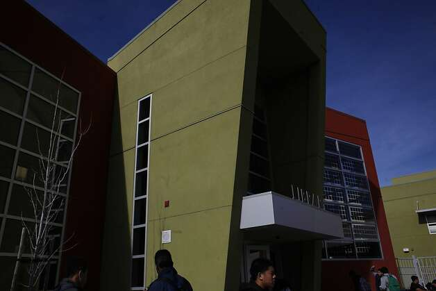American Canyon High School was built using an unusual loan that is costing the school district many millions in interest. Photo: Mike Kepka, The Chronicle