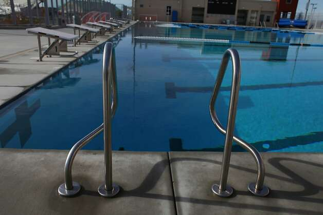American Canyon High School shows off an outdoor aquatic center on Tuesday Jan. 29, 2013 in American Canyon, Calif.  In 2006, Napa voters authorized $183 million to repair old school buildings and build a new high school in American Canyon, a rapidly growing area in southern Napa County. By 2009, when the high school was nearly completed, property values had dropped and the district suddenly found itself short of cash. On the advice of KNN Public Finance, an Oakland firm, Napa issued a nearly$22 million capital appreciation bond. Photo: Mike Kepka, The Chronicle