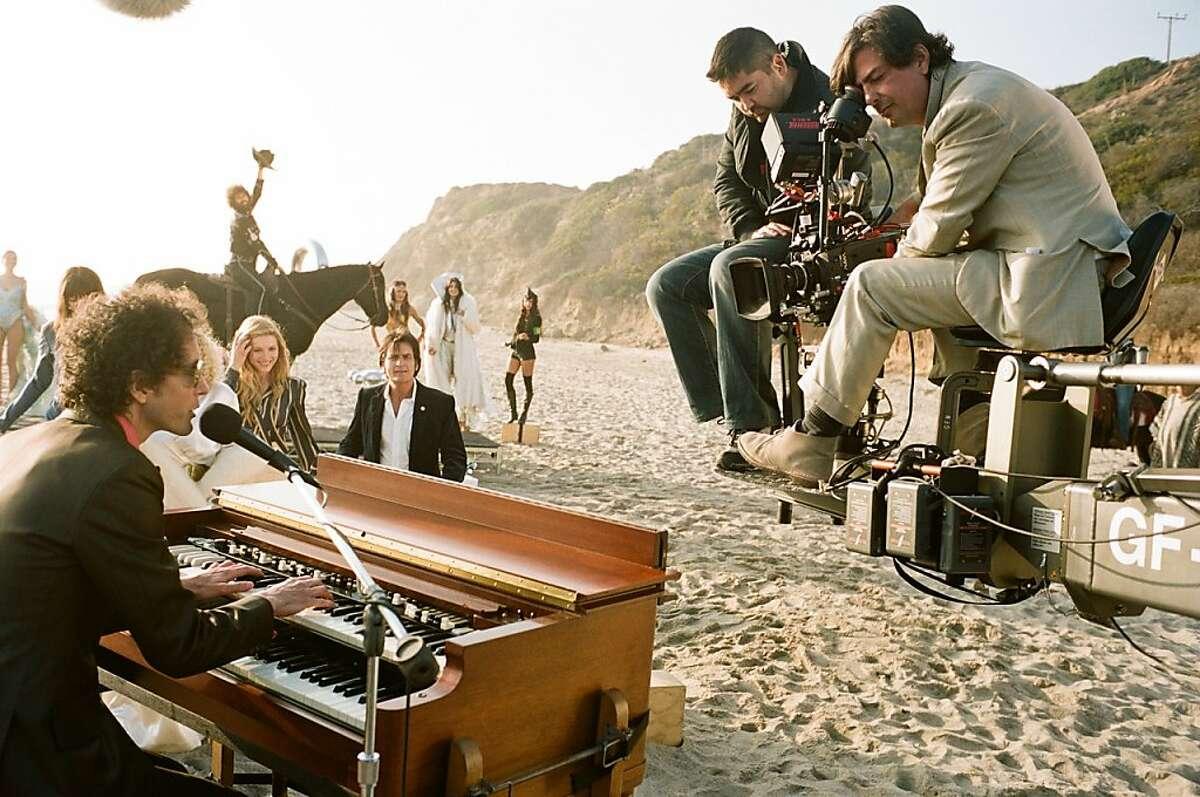 Roman Coppola directing