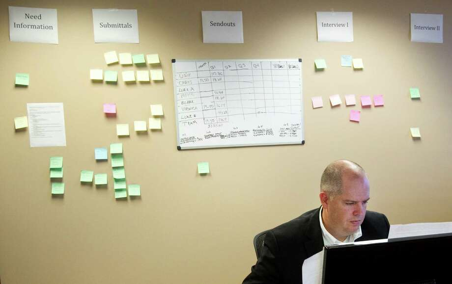 Phil Vanderslice is a partner at Rekruiters. Employers are scrambling to find tech professionals known as passive candidates, ones who aren't actively looking for new jobs. Photo: Brett Coomer, Houston Chronicle / © 2013 Houston Chronicle