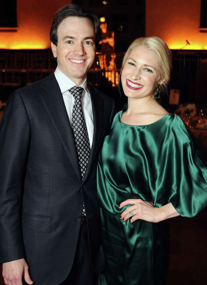 Lusting after: With two young babies at home, I am constantly coveting sleep. Second in line at the moment is a pair of white Saint Laurent pumps.Learn more about David in her full Best Dressed profile. Pictured with her husband, Danny. Photo: Dave Rossman, Freelance / © 2012 Dave Rossman