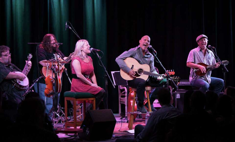 Tim Flannery (center) and his band, the Lunatic Fringe, played at the Kuumbwa Jazz  Center in Santa