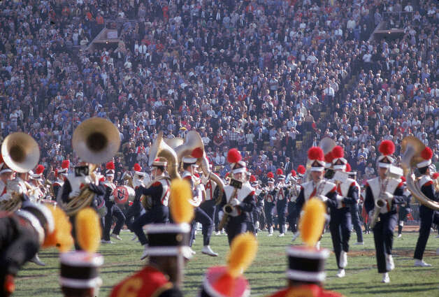 Super Bowl I — Jan 15, 1967 | Los Angeles | Packers 35, Chiefs 10Performers: Al Hirt, University of Arizona marching band, University of Michigan marching band, Anaheim (Calif.) High School drill team.The first-ever Super Bowl halftime show was decidedly less of a spectacle than it is these days. The first few shows mainly featured college marching bands, though New Orleans trumpeter Al Hirt performed in pregame ceremonies for Super Bowl I. Grambling State University's marching band joined Arizona's for the national anthem. Photo: Robert Riger, Getty Images / 2006 Getty Images