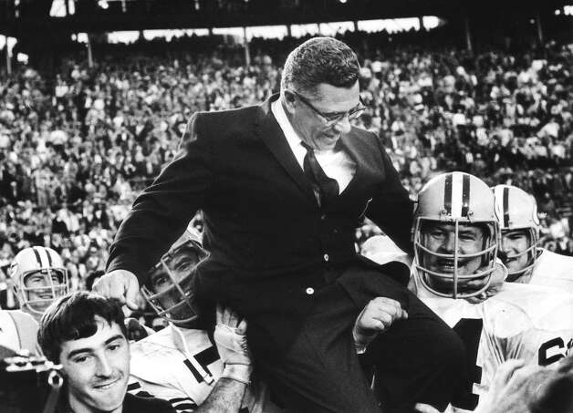 Super Bowl II — Jan. 14, 1968 | Miami | Packers 33, Raiders 14Performers: Grambling State University marching band.The halftime show was still traditional, with a marching band doing its thing. The Grambling State band also performed the national anthem before the game. Photo: Vernon Biever, NFL / Getty Images North America