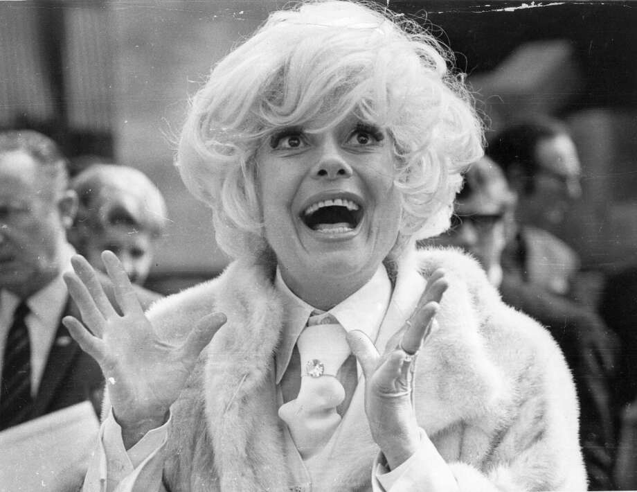 Super Bowl IV — Jan. 11, 1970 | New Orleans | Chiefs 23, Vikings 7Performers: Carol Channing (pictured), Southern University marching band.Trumpeters Al Hirt and Doc Severinsen performed a ''battle of the horns'' pregame concert, and Hirt also did the national anthem. Mardi Gras was the theme for the halftime show. Photo: John Downing, Getty Images / Hulton Archive