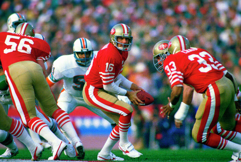 Super Bowl XIX — Jan. 20, 1985 | Palo Alto, Calif. (Stanford University) | 49ers 38, Dolphins 16Performers: Tops in Blue.Tops in Blue, an ensemble of active-duty U.S. Air Force members, performed a halftime show with the theme, ''World of Children's Dreams.'' The Children's Choir of San Francisco sang the national anthem.You can watch the entire halftime show on YouTube. Photo: Focus On Sport, Getty Images / 1985 Focus on Sport