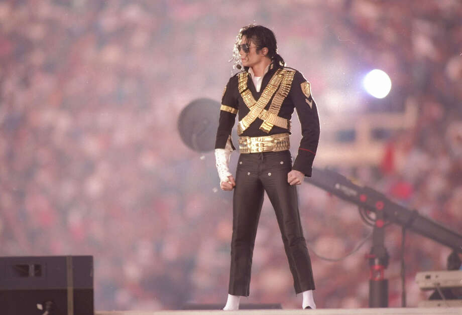 Super Bowl XXVII— Jan. 31, 1993 | Pasadena, Calif. | Cowboys 52, Bills 17Performer: Michael Jackson.Things took a turn in 1993, when Michael Jackson was the only performer and the halftime show didn't resemble a variety show. Some fans were let onto the field as a closer audience, and the Super Bowl halftime show started to look like it does now. When Jackson took the stage, he just stood there for a good minute and a half, letting the anticipation build. He sure knew how to put on a good show.You can watch the entire halftime show on YouTube. Photo: Mike Powell, Getty Images / Getty Images North America
