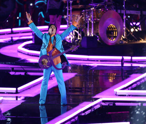 Super Bowl XLI — Feb. 4, 2007 | Miami | Colts 29, Bears 17Performers: Prince, Florida A&M University marching band.The halftime show got a little more out-there with a performance by Prince, but aside from a guitar silhouette at one point that some felt looked phallic, there wasn't much controversy. Many viewers thought it was one of the best Super Bowl halftime shows ever.You can watch the entire halftime show on YouTube. Photo: Bob Sheer, NFL / Getty Images North America