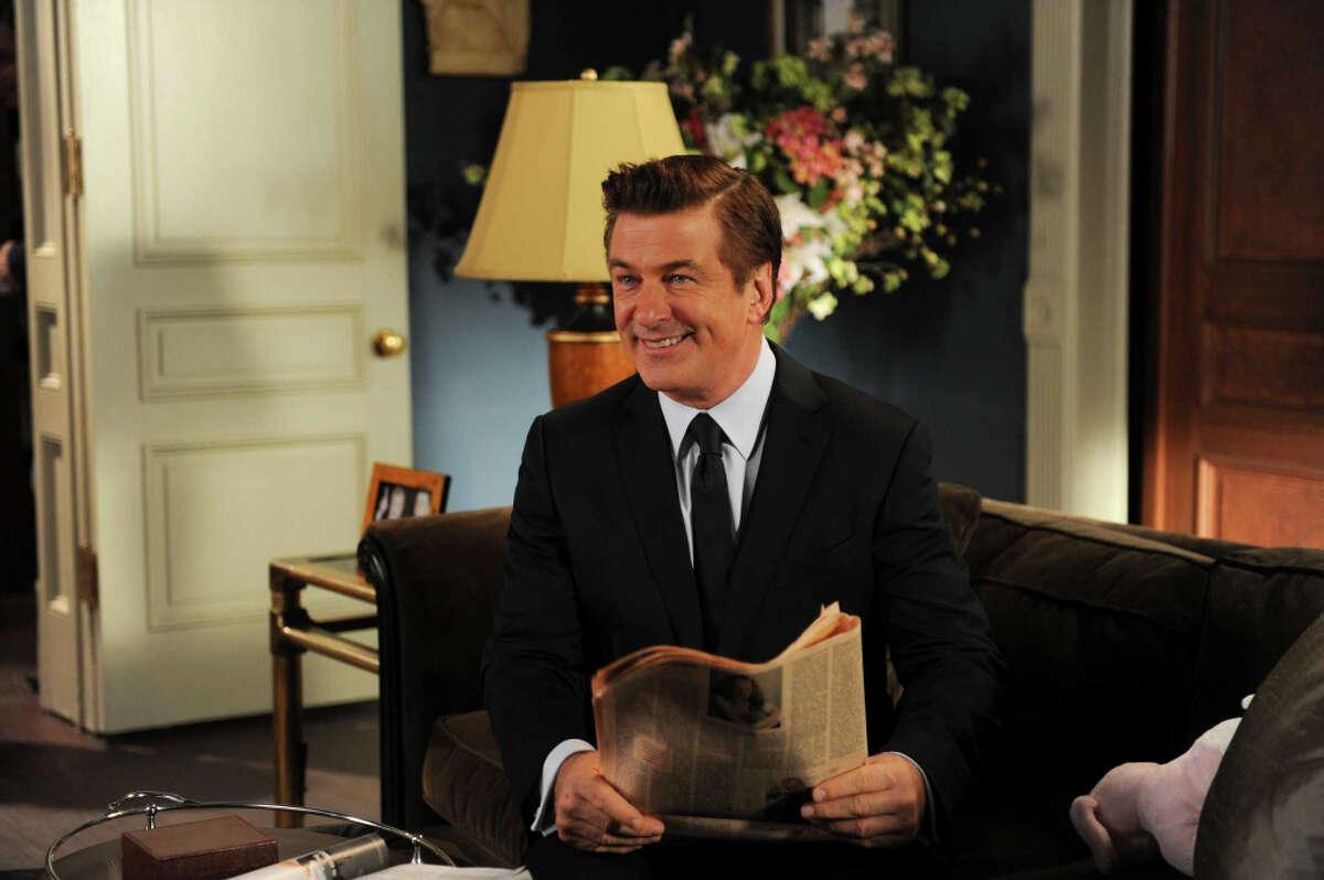 Alec Baldwin as Jack Donaghy in ''30 Rock's'' finale scene airing Jan. 31, 2013.