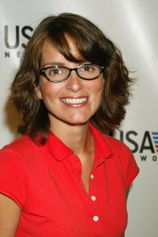 Tina Fey back in 2002, in her signature glasses. Photo: Scott Gries, Scott Gries/ImageDirect / 2002 Scott Gries/ImageDirect
