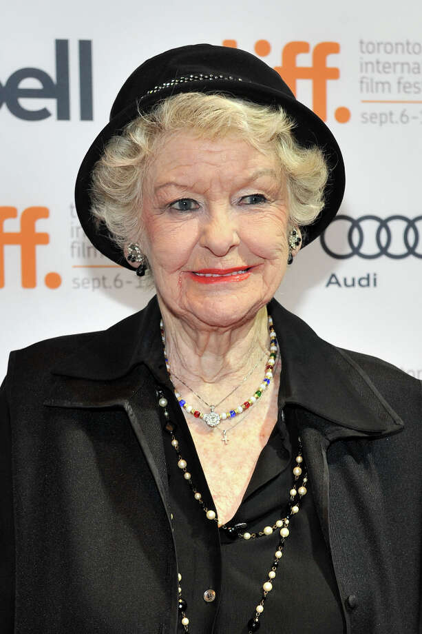 Elaine Stritch in 2012. Stritch, 87, is a longtime stage and screen actress who's won several Emmys.  Photo: Sonia Recchia, Getty Images / 2012 Sonia Recchia