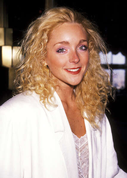 Jane Krakowski in the '90s, the decade she was in the TV show ''Ally McBeal.''