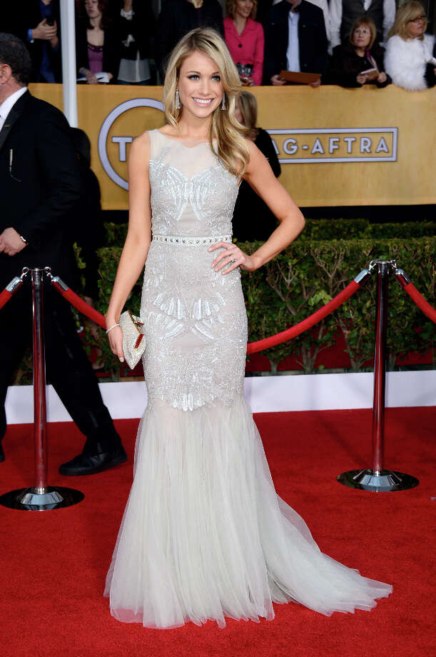 Katrina Bowden in 2013, at the Screen Actors Guild Awards. Photo: Frazer Harrison, Getty Images / 2013 Getty Images