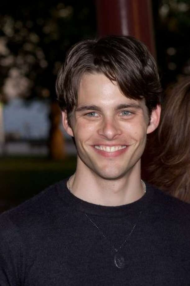 Before James Marsden played Liz Lemon's husband Chriss, he  was a Versace model and starred in the ''The Notebook.'' He's pictured in 2000.
