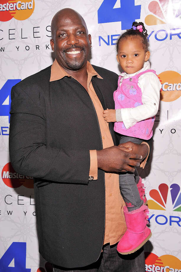 Kevin Brown with his daughter Eliza in 2011.  Photo: Gary Gershoff, Getty Images For NBC / 2011 Getty Images