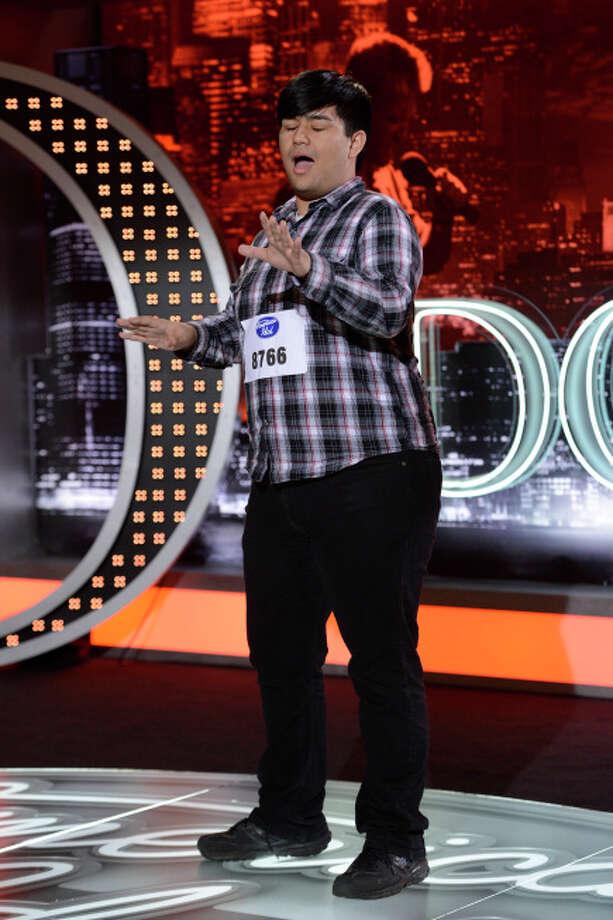 AMERICAN IDOL: San Antonio Auditions: Contestant Adam Sanders on AMERICAN IDOL airing Wednesday, Jan. 30 (8:00-10:00 PM ET/PT) on FOX. ©2013 Fox Broadcasting Co. CR: Michael Becker / FOX