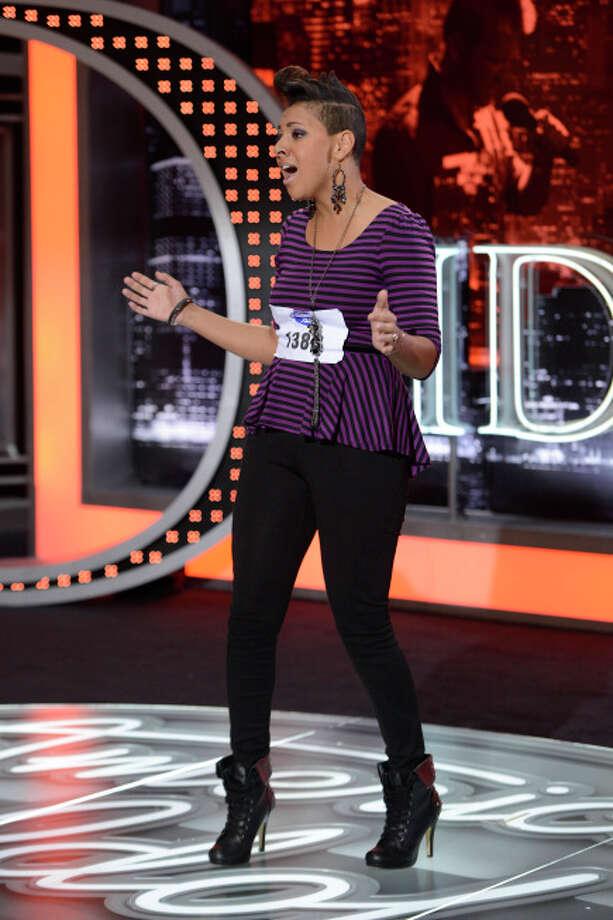 AMERICAN IDOL: San Antonio Auditions: Contestant Cristabel Clack on AMERICAN IDOL airing Wednesday, Jan. 30 (8:00-10:00 PM ET/PT) on FOX. ©2013 Fox Broadcasting Co. CR: Michael Becker / FOX