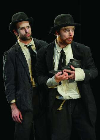 "Mark Bedard as Vladimir and Mark Anderson Phillips as Estragon in ""Waiting for Godot."" Photo: Kevin Berne"
