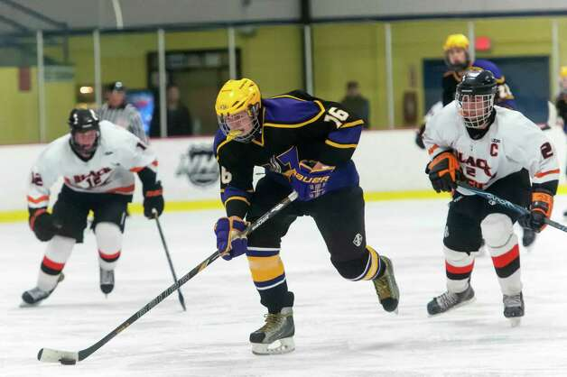 Westhill high school vs. Stamford high school in a boys ice hockey game played at Terry Conners Rink Stamford CT. on Wednesday January 30th 2013. Photo: Mark Conrad / Stamford Advocate Freelance