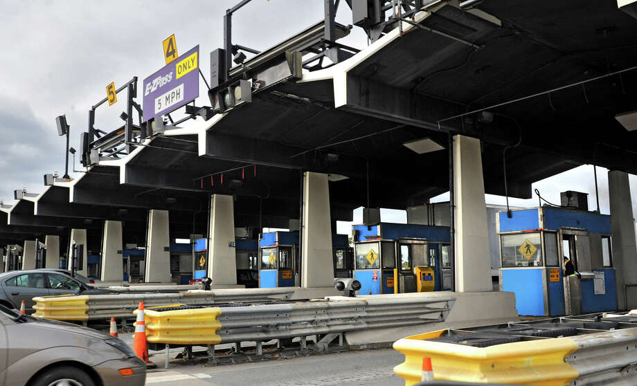 NYS Thruway toll booths at exit 24 on Tuesday Nov. 28, 2012, in Albany, N.Y.  (Lori Van Buren / Times Union archive) Photo: Lori Van Buren / 00020285A