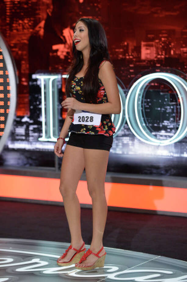 AMERICAN IDOL: San Antonio Auditions: Contestant Victoria Acosta wowed with mariachi and fabulous legs on AMERICAN IDOL.