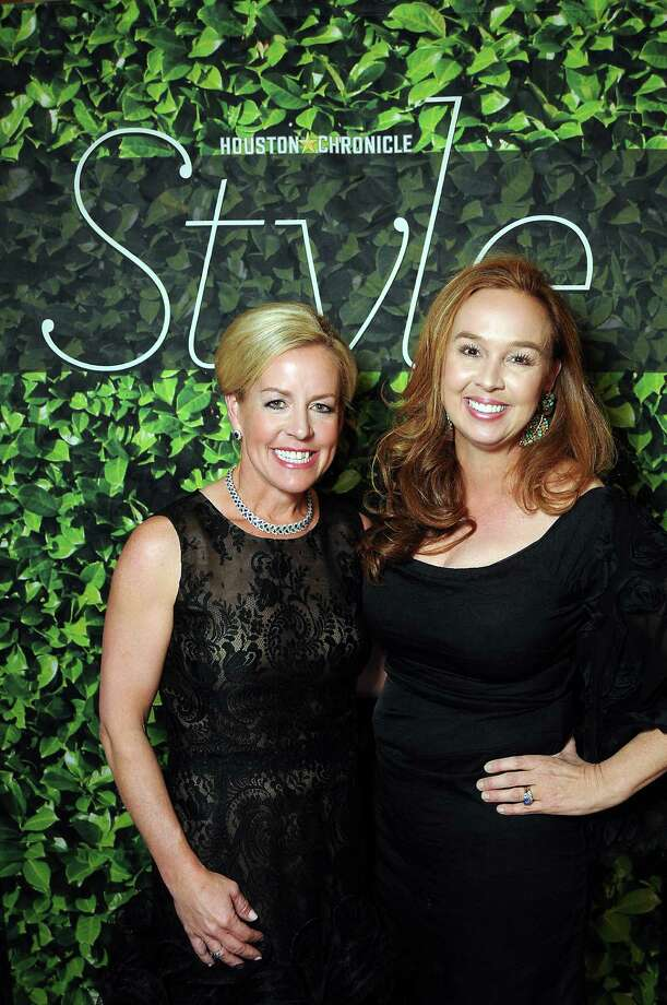 Honoree Rosemary Schatzman and Julie Brown at the Houston Chronicle's Best Dressed Announcement Party at Neiman Marcus Wednesday Jan. 30, 2013.(Dave Rossman/ For the Chronicle) Photo: Dave Rossman, For The Houston Chronicle / © 2013 Dave Rossman