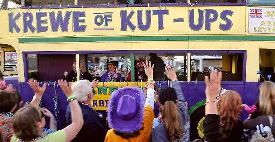 Mardi Gras of Southeast Texas in Port Arthur. cat5 file photo