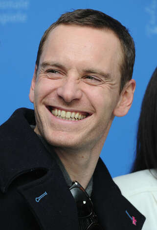 Runner-up Michael Fassbender in February, in Berlin.