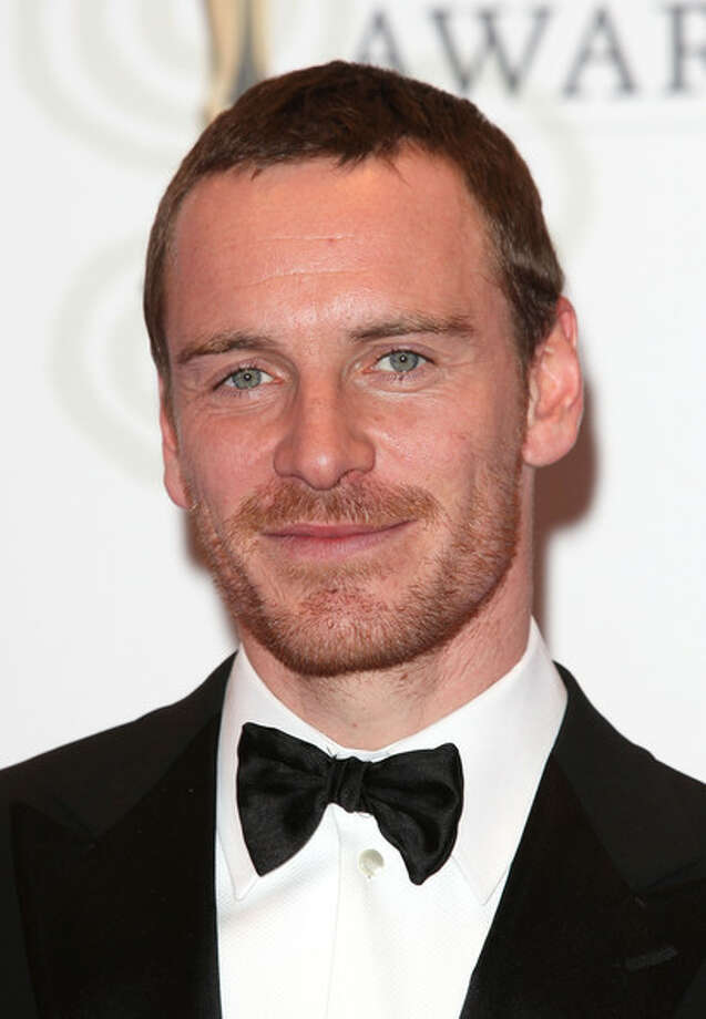 Runner-up Michael Fassbender in Dublin, in February