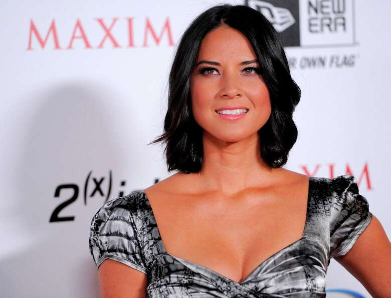 Olivia Munn (shown here at the Maxim Hot 100 party on May 11, 2011)
