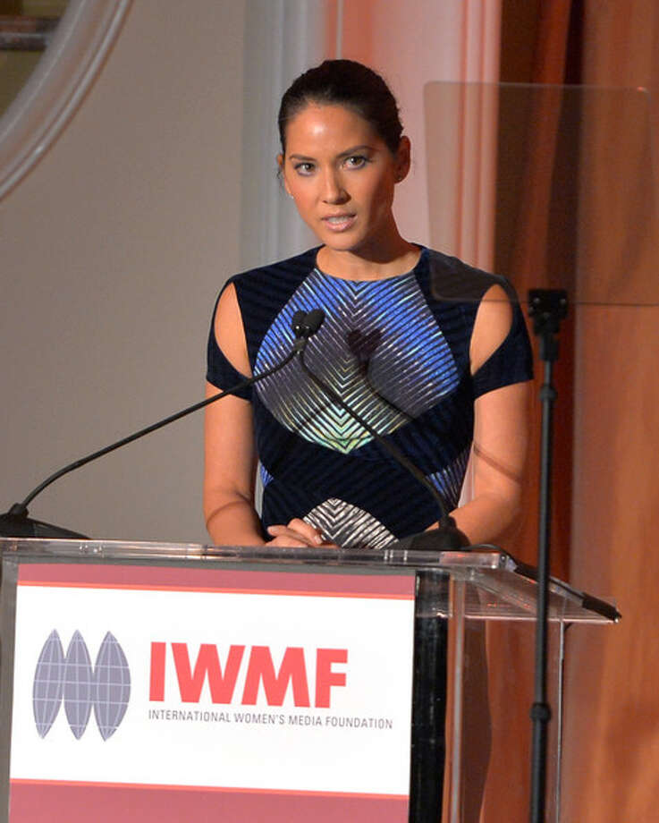 At the Women's Media Foundation in October, in NY.