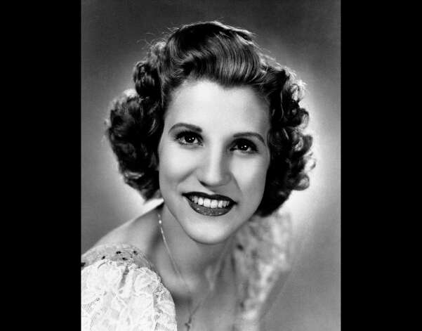 FILE - This 1942 file photo shows singer Patty Andrews, the last survivor of the three singing Andrews sisters, who has died in Los Angeles at age 94. Andrews died Wednesday, Jan. 30, 2013, at her home in suburban Northridge of natural causes, said family spokesman Alan Eichler. Photo: AP