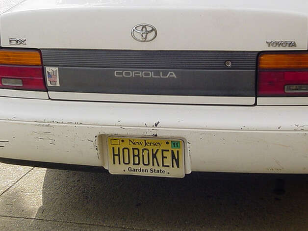 No more vanity plates: New Jersey will permanently stripyou of the right to get a vanity license plate if you are convicted of a DUI. (Photo: Rutle, Flickr)