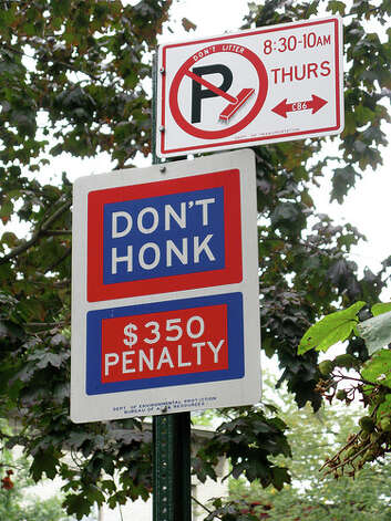 Don't scare the horses: Honking is illegal in Oxford, Mississippi, because it might scare nearby horses.(Photo: Michelle Grimord Eggers, Flickr)