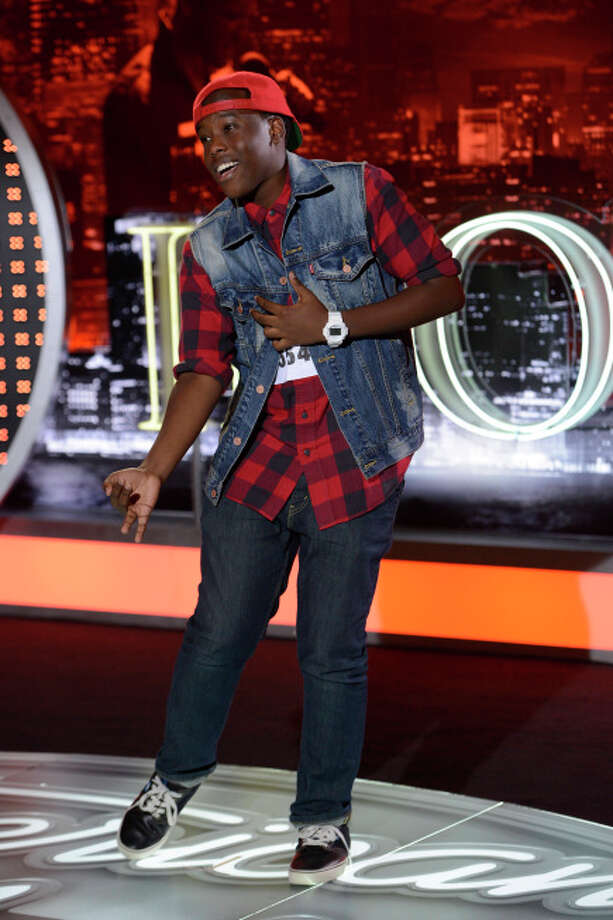 AMERICAN IDOL: Contestant Sanni MMairura, 16, of the little Texas town of Pearland got much love from the judges for his sunny delivery of a Michael Jackson song.