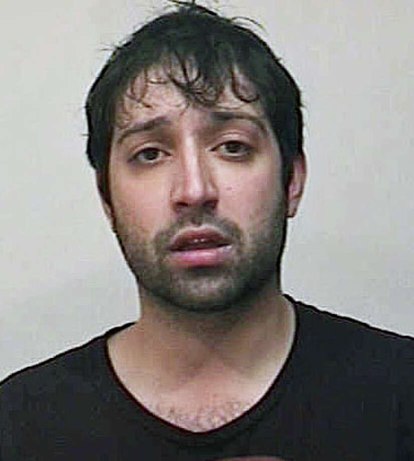 Mauro Fanelli was picked up by police Wednesday night after he allgedly tried to break into a Stratfield Road pizza parlor. Photo: Contributed Photo / Fairfield Citizen