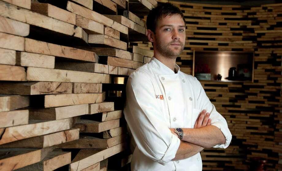 Chef de cuisine Kaz Edwards at Uchi Photo: James Nielsen, Staff / © Houston Chronicle 2012