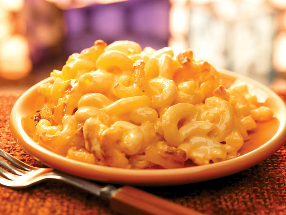 Luby's macaroni and cheese ... or mashed potatoes and gravy. Really, just anything warm from Luby's. Photo: Luby's