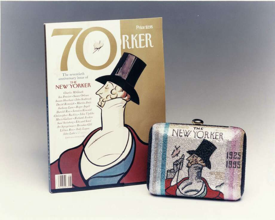 A Judith Leiber purse in May 2005 celebrating The New Yorker's 70th anniversary will be auctioned in a Houston Grand Opera benefit.
