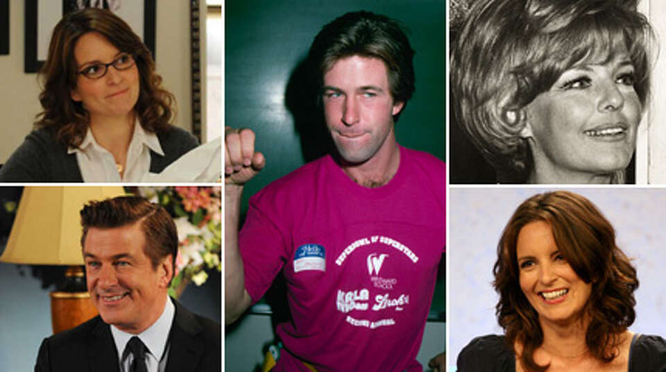 In honor of ''30 Rock's'' last episode Thursday, here's a look at the stars before they were on the