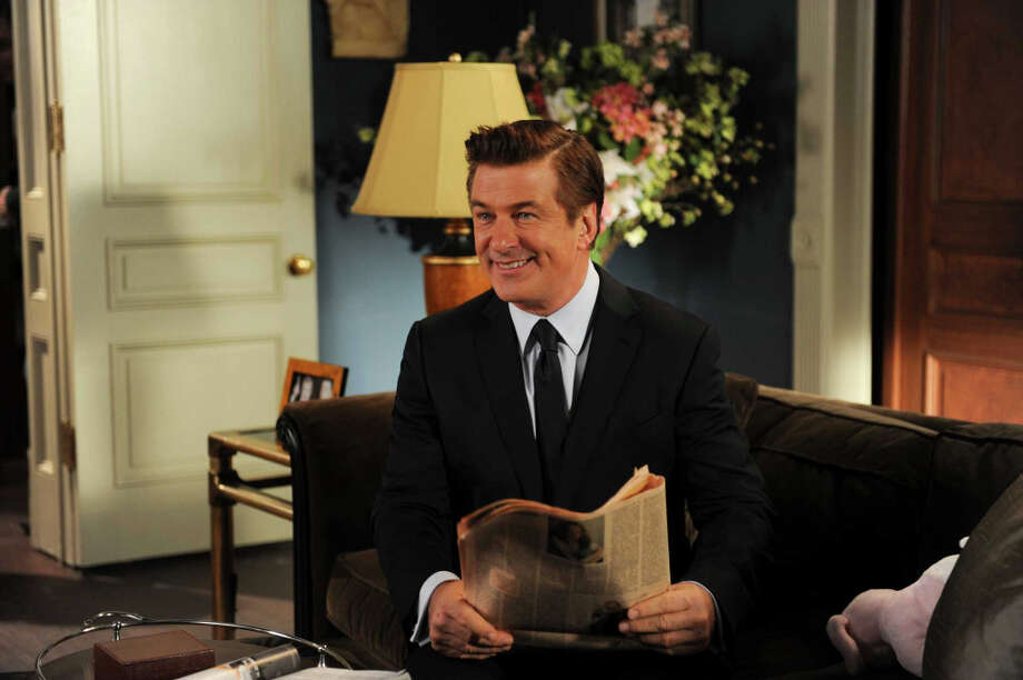 Alec Baldwin as Jack Donaghy in ''30 Rock's'' finale scene airing Jan. 31, 2013. Photo: Ali Goldstein, AP / NBC
