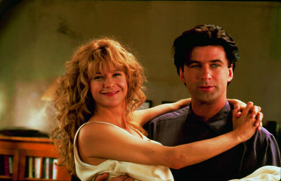 Alec Baldwin with Meg Ryan in the 1992 movie ''Prelude to a Kiss.'' Photo: Time & Life Pictures, Time Life Pictures/Getty Images / Time & Life Pictures