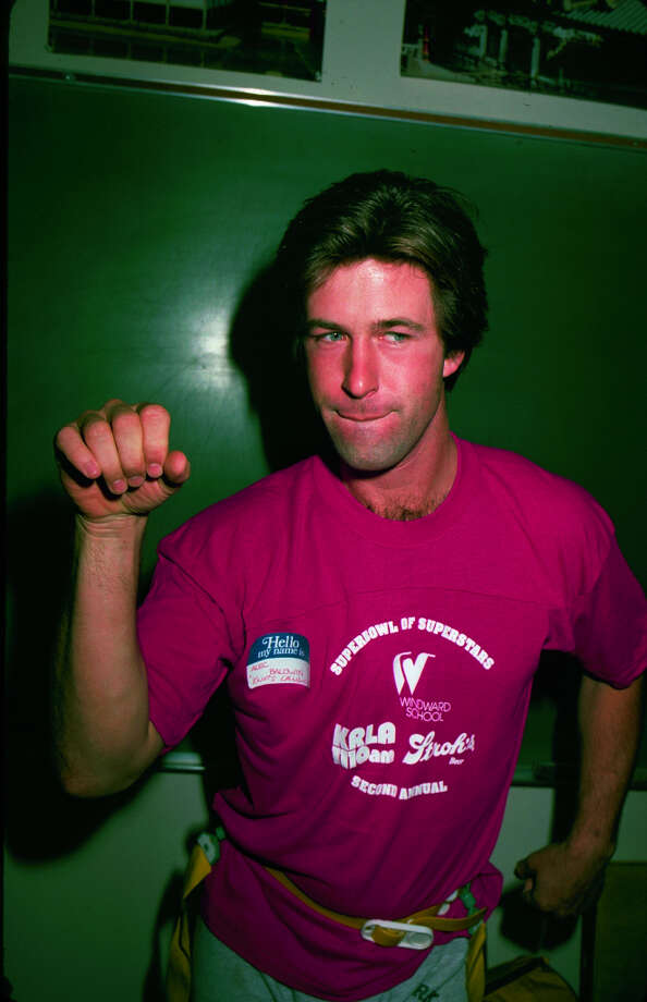 Alec Baldwin, 1986.  Photo: Time & Life Pictures, Time Life Pictures/Getty Images / Time & Life Pictures