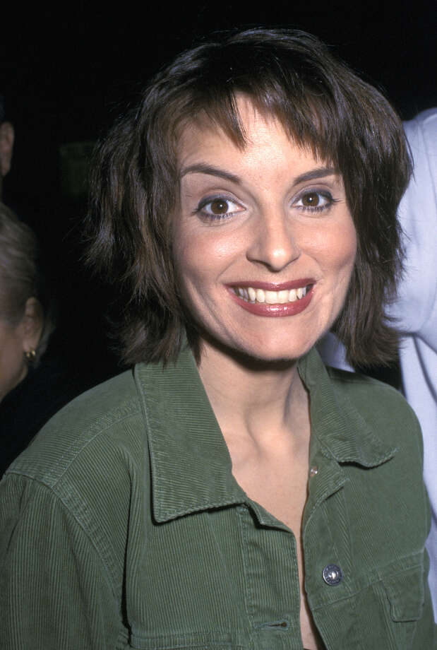 Here's Tina Fey in 2002, who has definitely improved with age. She's pictured at a ''Saturday Night Live'' party.  Photo: Carmen Valdes, WireImage / Ron Galella Collection