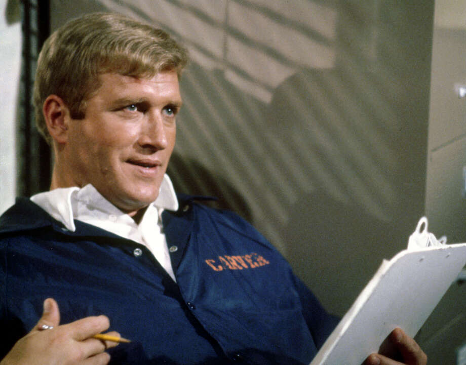 You know actor Ken Reeves as goofy Kabletown executive Hank Hooper. But back in the late '70s, Hooper played the basketball coach on the TV dramas, ''The White Shadow.'' Photo: CBS Photo Archive, Getty Images / Copyright CBS Broadcasting Inc. All Rights Reserved. Credit: CBS Photo Archive.  2005 CBS Worldwide Inc.