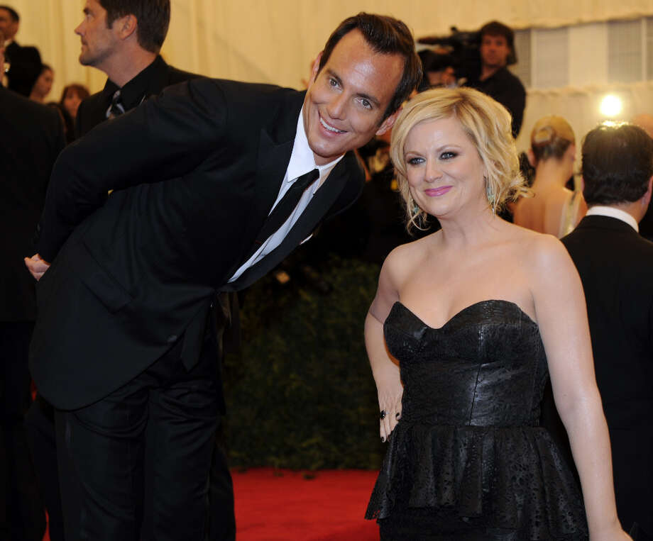 Will Arnett with wife Amy Poehler in 2012. Photo: TIMOTHY A. CLARY, AFP/Getty Images / 2012 AFP