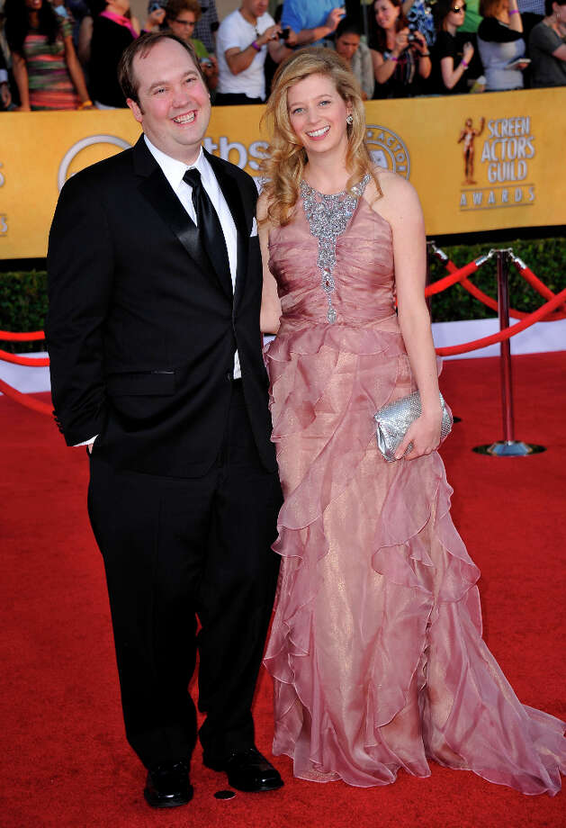 Some ''30 Rock'' trivia: The actors John Lutz and Sue Galloway, who play the writers Lutz and Sue on the show, are married in real life. They're pictured in 2012. Photo: JOE KLAMAR, AFP/Getty Images / 2012 AFP