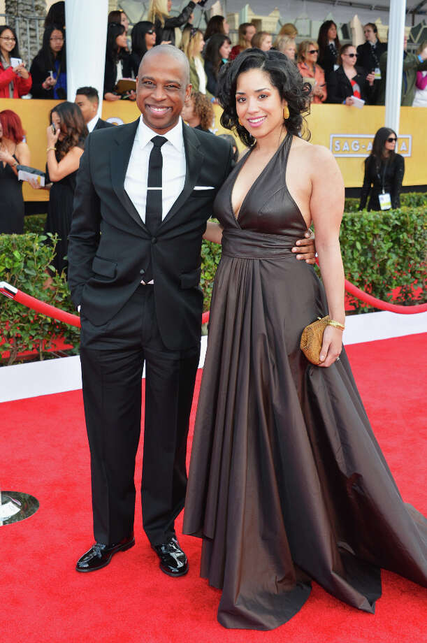 Keith Powell (''Toofer'') attends the Screen Actors Guild Awards with fiancee Jill Knox on Jan. 27, 2013.  Photo: Alberto E. Rodriguez, Getty Images / 2013 Getty Images
